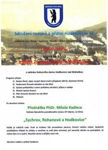 Veřejná výroční schůze - 24. ledna 2014