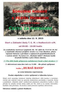 Pozvanka Cesta za poznáním 2015