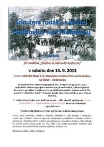 Stezka za historií Hodkovic 2013