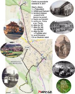 Mapa - cesta za poznáním 2017
